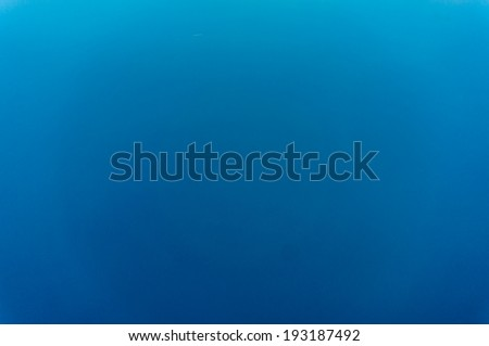 Sea surface view from plane,  background image - stock photo