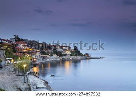 Sea Town - stock photo