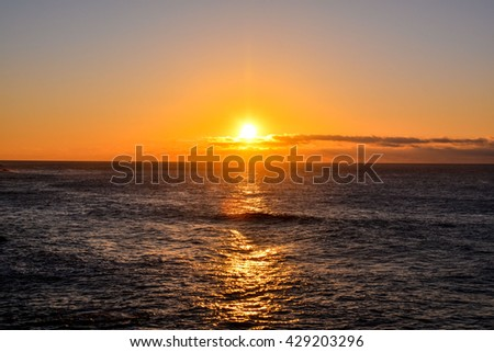 Sea Tropical Sunset