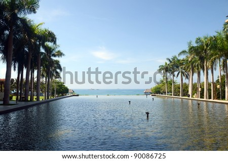 Sea View, YALONG BAY MANGROVE TREE, China, Hainan, Sania