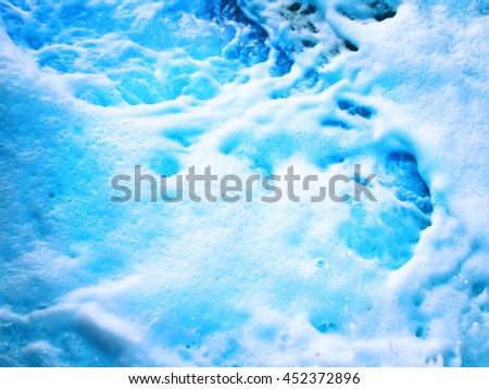 Sea Water Foam - stock photo