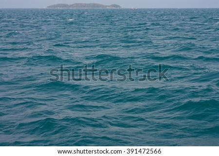 sea wave background  - stock photo