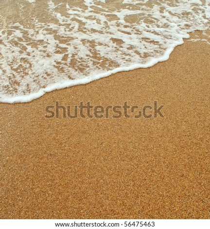 Sea waves - stock photo