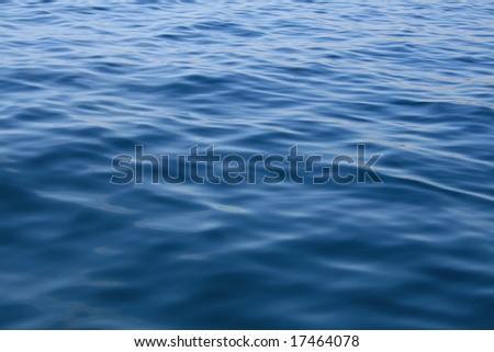 Sea waves surface - stock photo