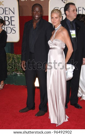SEAL & HEIDI KLUM at the 63rd Annual Golden Globe Awards at the Beverly Hilton Hotel. January 16, 2006  Beverly Hills, CA  2006 Paul Smith / Featureflash