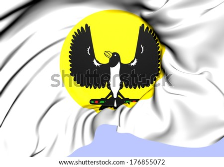 Seal of South Australia. Close Up. - stock photo