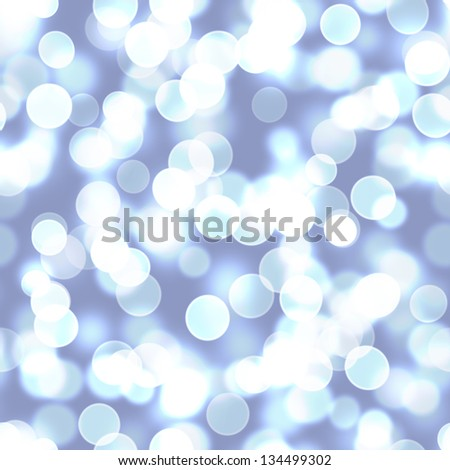 Seamless abstract background with bokeh defocused lights