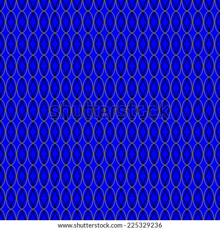 seamless abstract black blue pattern black blue texture with black ellipse on blue background raster - stock photo