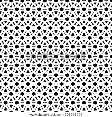 seamless abstract black white pattern raster