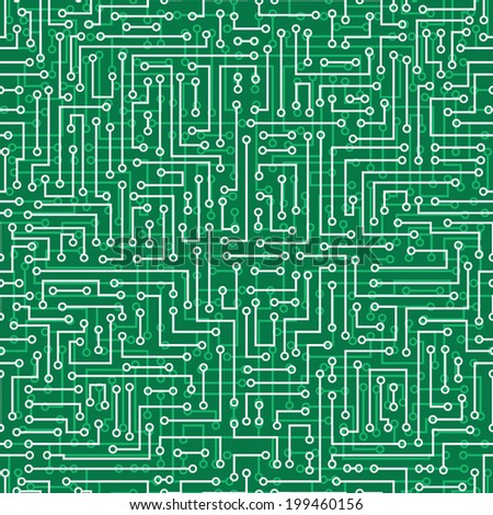 seamless abstract electronic background. Electronic board pattern