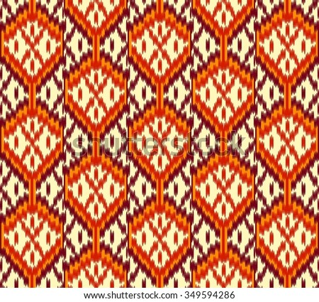 Seamless Abstract Ethnic / Tribal Pattern.