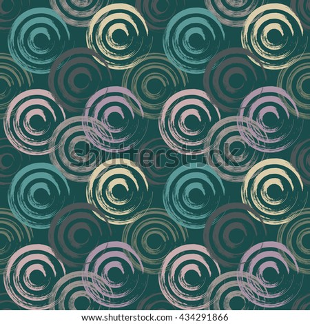 seamless abstract faded circle background