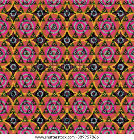 Seamless abstract pattern ornament geometric stylish simple background