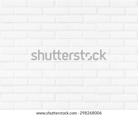 Seamless abstract square white brick wall. City Interior Clay Art Back Row New Modern Retro Old Vintage Texture Design Frame Home Rock Path Grey Gray Pool Room Bath Floor Tile Solid Clean Pure Empty - stock photo