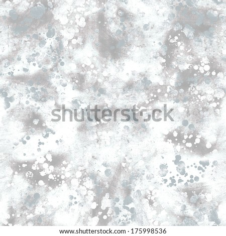 Seamless artistic gray scale watercolor texture - stock photo