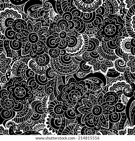 Black And White Floral Print Dress Stock Photos Images