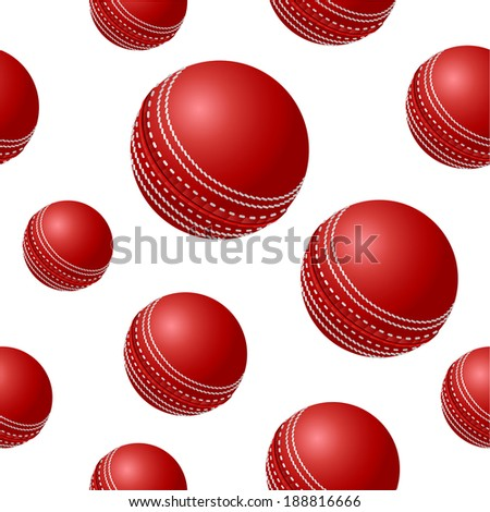Seamless background design with ball.