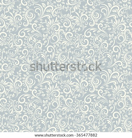 Seamless background of light blue color