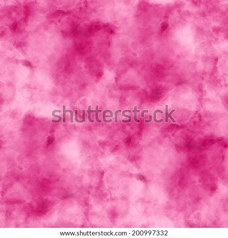 seamless background pink abstract texture watercolor in old paper  - stock photo