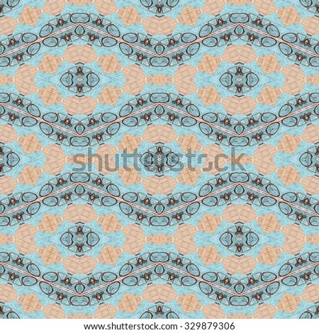 seamless bicycle background texture - stock photo
