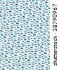 Seamless blue boys cars pattern - stock photo