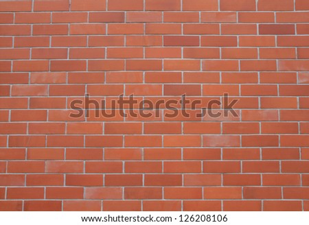 Seamless brick wall background - stock photo
