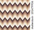Seamless chevron background. Geometric pattern on paper texture. - stock photo