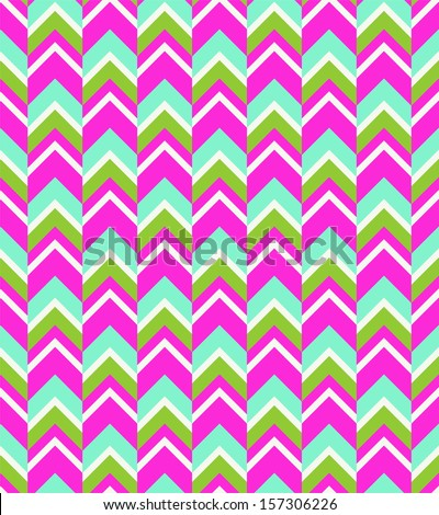 Seamless Chevron Pattern - stock photo