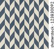 Seamless chevron pattern on paper texture - stock photo