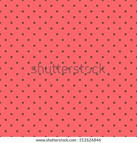 Seamless Dot Pattern - stock photo