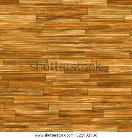 Seamless fulvous laminate flooring texture background.