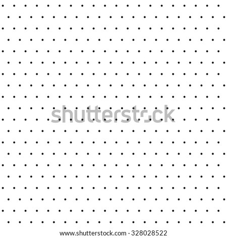 Seamless geometric modern  pattern. Fine ornament with black dotted elements - stock photo