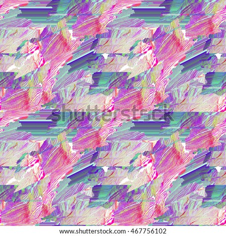 Seamless glitch art pattern