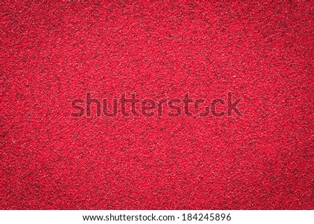 Seamless grainy texture. Red color empty surface background with space for text, sign and luxury style design. - stock photo