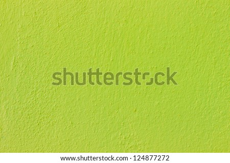 Seamless green painted concrete wall
