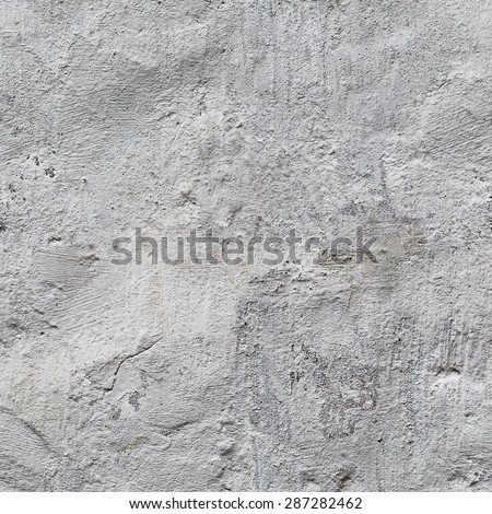 Seamless grunge texture plastered surface. The old plastered wall surface. Grungy background.  - stock photo