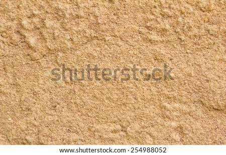 Seamless grunge wall sand background - stock photo
