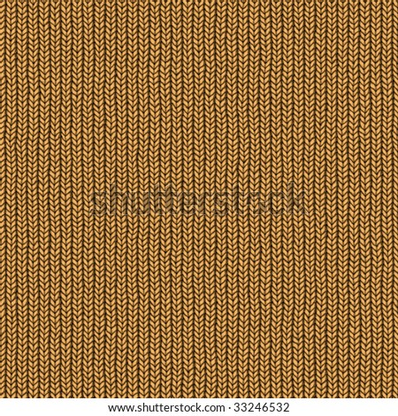 Seamless knitted wool sweater texture - stock photo