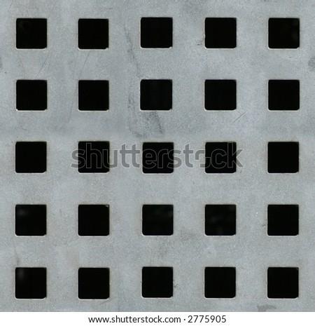 Seamless metal texture - stock photo