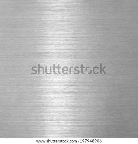 Seamless metal texture background - stock photo
