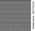 seamless metal weave texture - stock photo