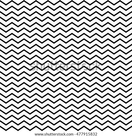 Seamless monochrome geometric triangular pattern. elements for design