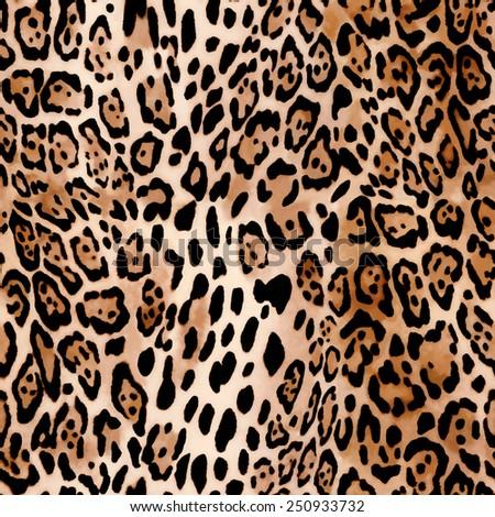 Seamless Natural Animal print  - stock photo