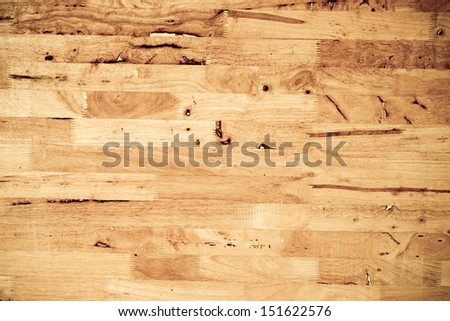 Seamless Oak laminate parquet floor texture background - stock photo