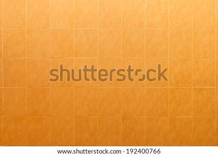 seamless orange tile background - stock photo