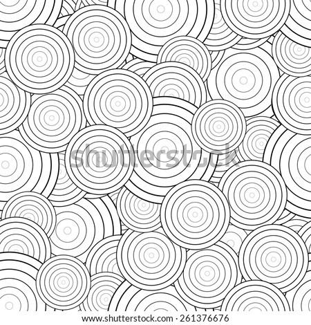 seamless pattern. Abstract stylish background rasterized - stock photo