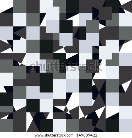 Seamless pattern in the style of the first computer games