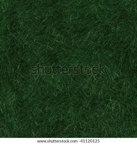Seamless pattern tile of long dark green grass - stock photo
