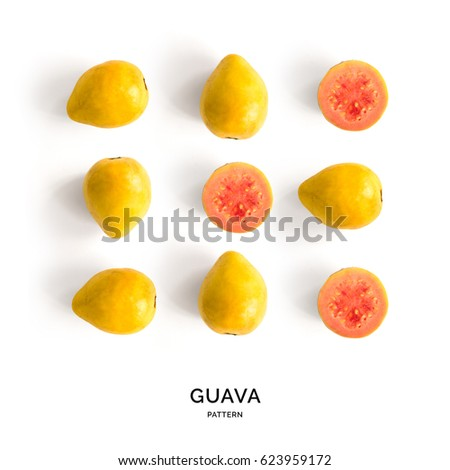 Guava immagini stock immagini e grafica vettoriale royalty free seamless pattern with guava tropical abstract background guava on the white background ccuart Image collections