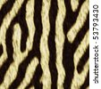 Seamless patterns zebra - stock photo